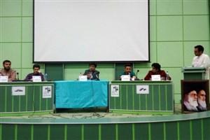 """کرسی آزاد اندیشی با عنوان:""""مذاکره یا مقاومت""""در دانشگاه آزاد اسلامی بروجرد"""