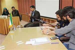 مناظره دانشجویی در مورد سند برجام در دانشگاه آزاد اسلامی شاهرود