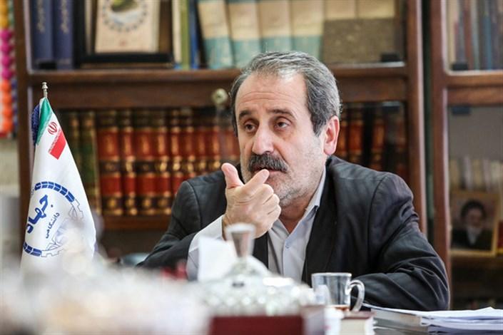 امین اسماعیلی مشاور رییس جهاد دانشگاهی