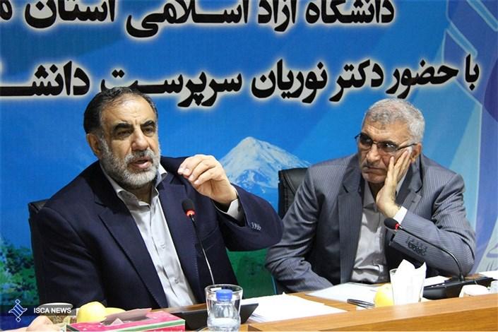 بیست و سومین جلسه شورای استان مازندران دانشگاه آزاد اسلامی با حضور دکتر نوریان