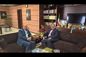 دیدار وزیر دفاع و پشتیبانی نیروهای مسلح با سرپرست دانشگاه آزاد اسلامی