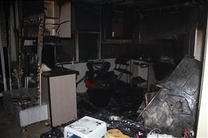 آتش سوزی در آرایشگاه زنانه / حریق تلفاتی نداشت