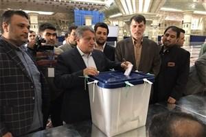 محسن هاشمی: نتیجه انتخابات هر چه باشد به نفع کشور و نظام خواهد بود