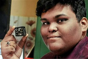 Indian Teen Designs the World's Lightest Satellite