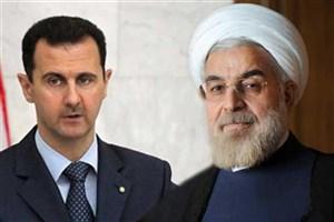 پیام تبریک بشار اسد به مناسبت پیروزی روحانی در انتخابات