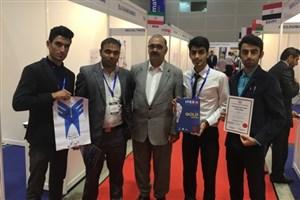 افتخار آفرینی دانشجوی دانشگاه آزاد اسلامی واحد دزفول در مسابقه اختراعات مالزی