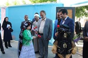بازدید دکتر زرهانی از مدارس سما کرمانشاه