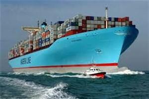 کشتی توسکا پس از بارگیری از چین به بندرعباس میآید