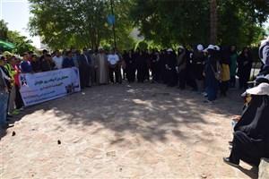 برگزاری همایش بزرگ پیاده روی خانوادگی به مناسبت سالروز تاسیس دانشگاه آزاد اسلامی در شهرستان تربت جام