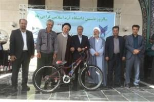 همایش پیادهروی دانشگاه آزاد اسلامی ورامین، پیشوا برگزار شد