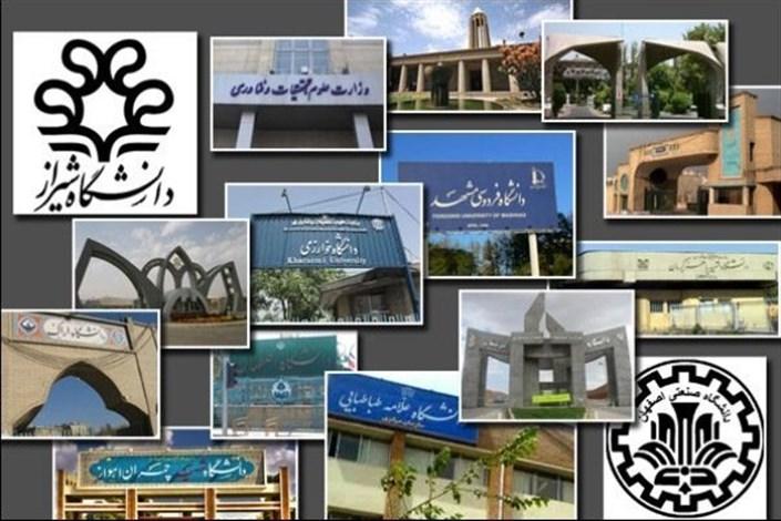 لوگوی دانشگاه های کشور