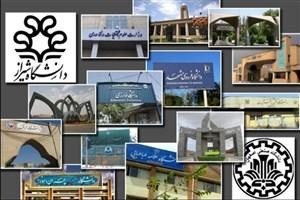 هفتمین دوره رتبه بندی دانشگاه ها و موسسات پژوهشی کشور آغاز شد