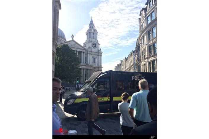 لندن انفجار