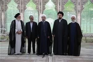 روحانی: به خواست مردم در مقام عمل تحقق خواهیم بخشید