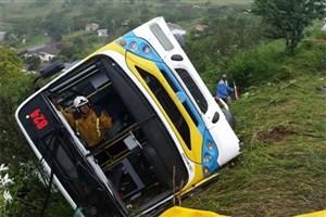 سقوط اتوبوس مسافربری در هند ۲۱ کشته داد