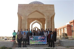 برگزاری مراسم سالروز آزادی خرمشهر در دانشگاه آزاد اسلامی بیضا