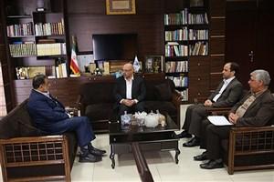 دیدار رییس سازمان ثبت اسناد و املاک کشور با سرپرست دانشگاه آزاد اسلامی