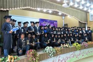 برگزاری جشن دانش آموختگی دانشجویان در واحد اقلید