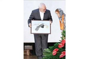 ظریف سفیر جهانی اماس شد/لکلک سفید ایرانی نماد جدید اماس