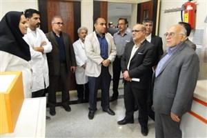 بازدید معاون علوم پزشکی دانشگاه آزاد اسلامیو نمایندگانوزارت بهداشت از واحد گرمسار