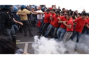 درگیری میان پلیس و معترضان به نشست گروه هفت در ایتالیا
