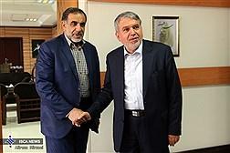 دیدار دکتر نوریان با دکتر صالحی وزیر فرهنگ و ارشاد اسلامی