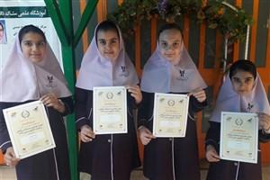 کسب دیپلم افتخار مسابقات بین المللی ریاضیات کانگورو توسط دانش آموزان سمای کرج