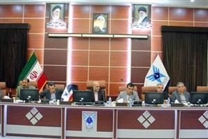 نشست علمی دانشگاه آزاد اسلامی اراک با شرکت های صنعتی اراک برگزار شد