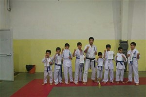 کسب 14 مدال توسط تیم کاراته دانشگاه آزاد اسلامی سنندج