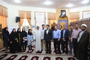 مسجد دانشگاه آزاد اسلامی کرمان غبار روبی و عطر افشانی شد
