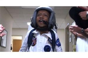آرزوی کودک بیمار قلبی با واقعیت مجازی برآورده شد