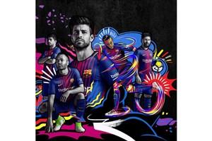 رونمایی از پیراهن جدید بارسلونا+عکس