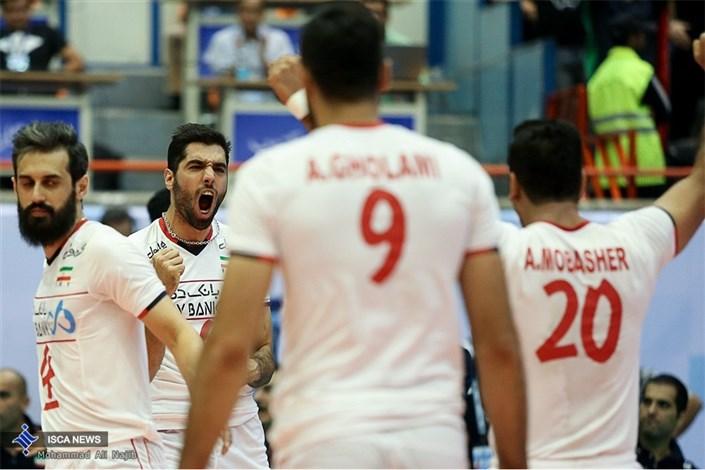 دیدار ایران و صربستان - هفته سوم لیگ جهانی