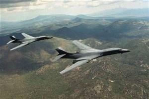 بمبافکنهای آمریکایی بر فراز شبه جزیره کره به پرواز درآمدند