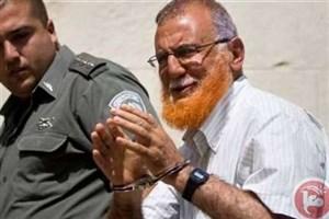 آزادی نماینده اسیر پارلمان فلسطین