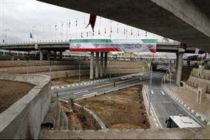 افتتاح تقاطع غیرهمسطح سه راه تقیآباد