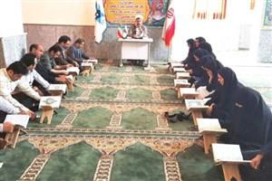 برگزاری کارگاه تفسیر سوره حمد در دانشگاه آزاد اسلامی جویبار