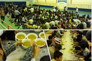 برپایی مراسم ضیافت افطاری در دانشگاه آزاد اسلامی سبزوار
