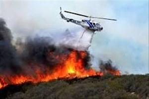 کمبود بالگرد اطفای حریق در کشور