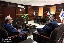 دیدار دکتر نوریان با دکتر زاهدی رئیس کمیسیون آموزش و تحقیقات مجلس