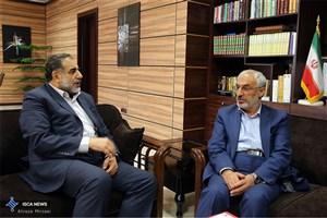 دیدار سرپرست دانشگاه آزاد اسلامی با رییس کمیسیون آموزش و تحقیقات مجلس شورای اسلامی