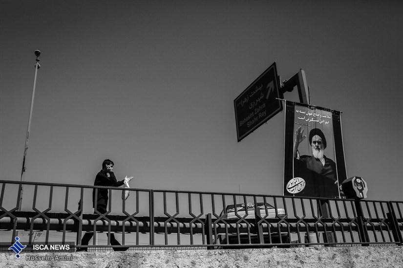 در حاشیه مراسم سالگرد ارتحال بنیانگذار انقلاب اسلامی