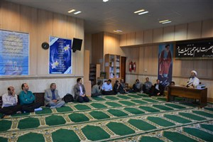 برگزاری مراسم ارتحال امام خمینی (ره) در دانشگاه آزاد اسلامی واحد بندر انزلی