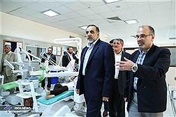 بازدید دکتر نوریان از دانشگاه آزاد اسلامی واحد دندانپزشکی تهران