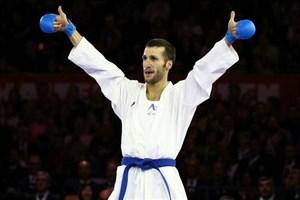 ورزشکار کاراته کا دانشگاه آزاد اسلامی  در ترکیب تیم ستارگان جهان