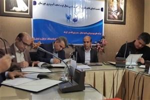تفاهم نامه همکاری سازمان آب و برق خوزستان با واحدهای دزفول، اندیمشک ومرکز شوش