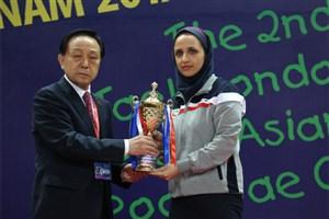 ندا رستاد بهترین مربی آسیا شد