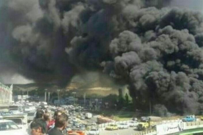 انفجار تانکر سوخت