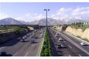 ترافیک نیمه سنگین در 2 محور/آخرین وضعیت جاده های کشور