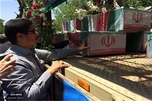 مراسم تشییع شهدای حادثه تروریستی تهران آغاز شد